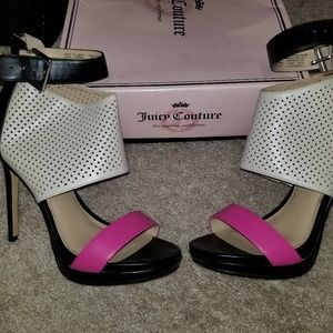 Juicy couture shoes authentic worn once .